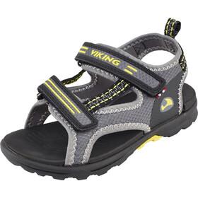 Viking Footwear Skumvaer - Sandalias Niños - amarillo/gris